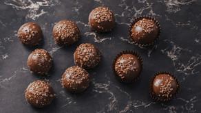 Mélimélo de truffes de brownie