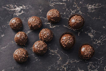 Round Chocolate Truffles