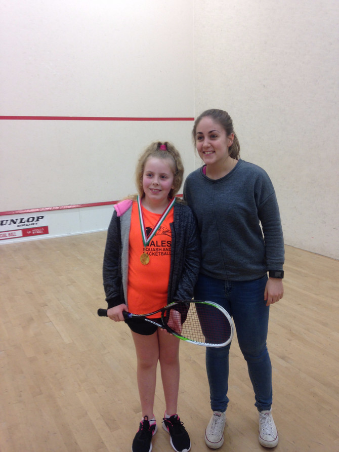 Eve wins big at the North Welsh Open!