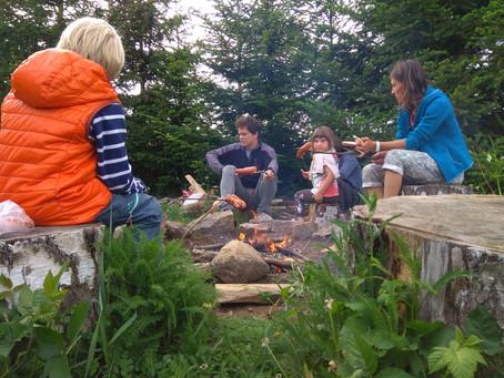 Předprázdninové setkání u ohně