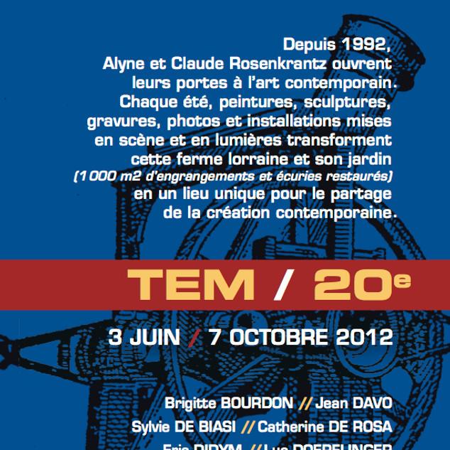 2012 : TEM expo a 20 ans!