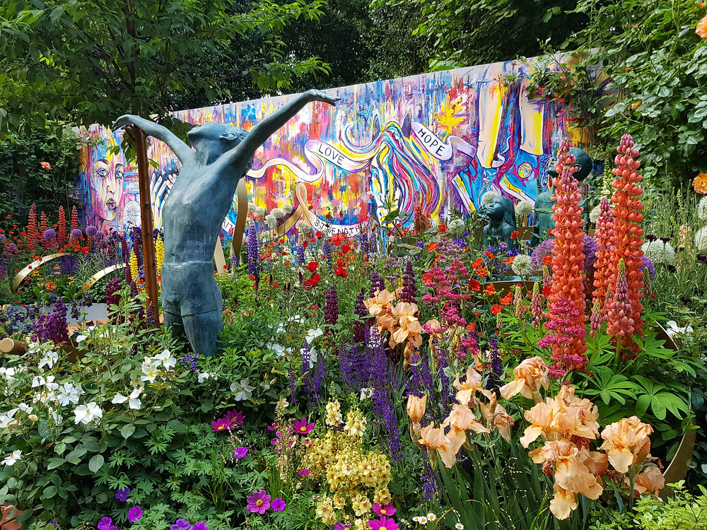'Laced with Hope' Artisan Garden at RHS Chelsea Flower Show 2018