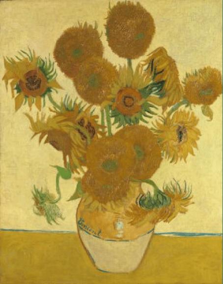 Vincent van Gogh, Sunflowers, 1888