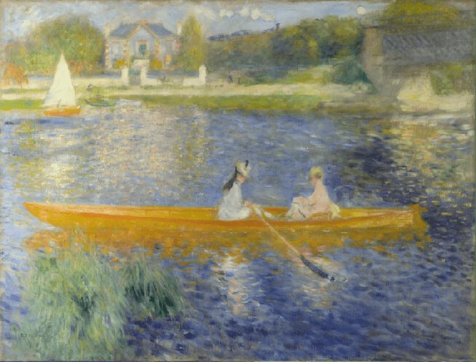 Pierre-Auguste Renoir, The Skiff, 1875