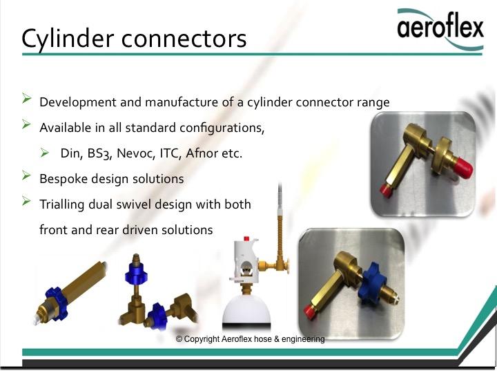 Cylinder connectors