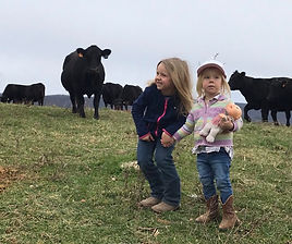hallie and reece w cows.jpg
