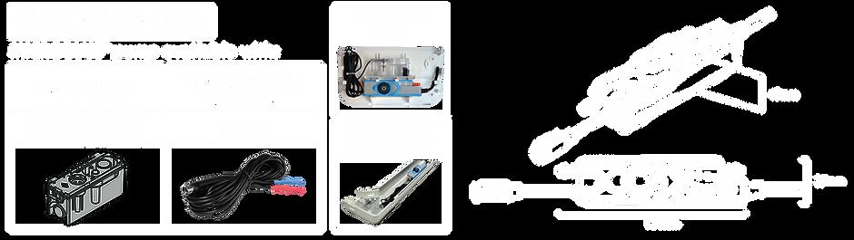 Microblue Sensing options including Reservoir sensor, Ducting Kit and Fascia Kit. MicroBlue Dimensions Blueprint