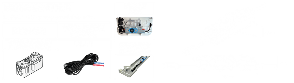 Microblue Sensing options including Reservoir sensor, Ducting Kit and Fascia Kit. MicroBlue Dimensions Blueprint