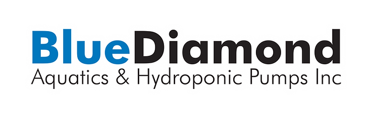 Blue Diamond Aquatic Hydroponic Pumps US USA America Pond Growing Koi