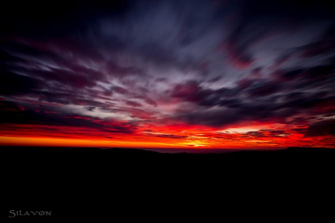 Der erste Sonnenaufgang des neuen Jahres