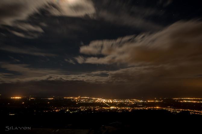 Te Mata Peak bei Nacht