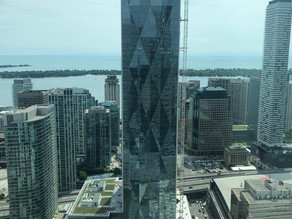 CIBC SQUARE's South Tower Approaching Final Form in Downtown Toronto