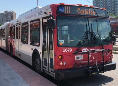 #TransitChallenge2020 begins Monday in Ottawa