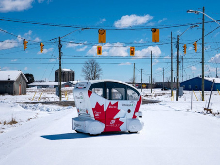 Auto-pod shuttle aims to fill a gap in Ottawa's transportation scene