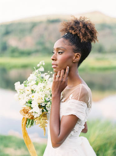 Whimsical Gold Bouquet