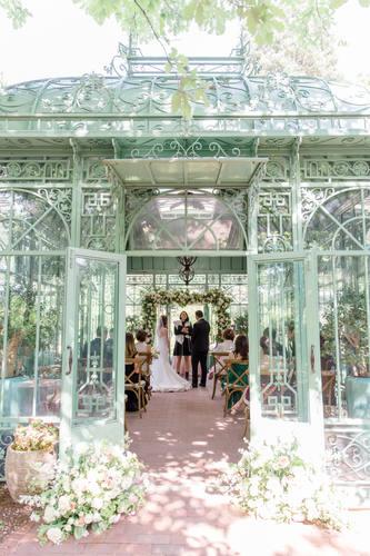 Woodland Mosaic Wedding Ceremony
