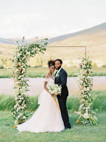 Airy Wedding Arch