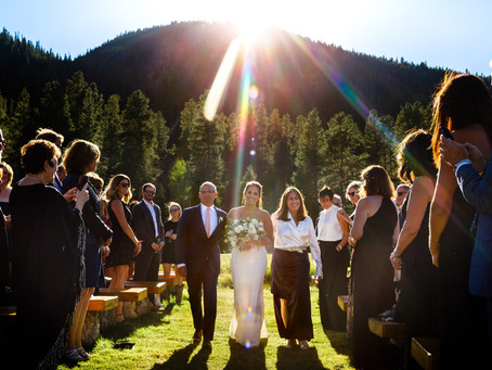 A Cool Summer Camp Hale Wedding
