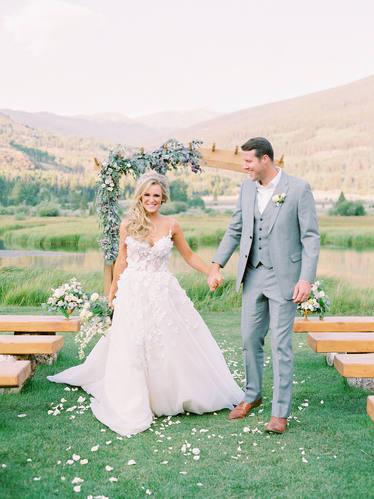Camp Hale Wedding Ceremony