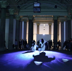 Performance by Jina Song and Martha Panagiotopoulou Gallery of Modern Art - Glasgow March 2020