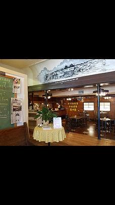 Inside Professor's Restaurant