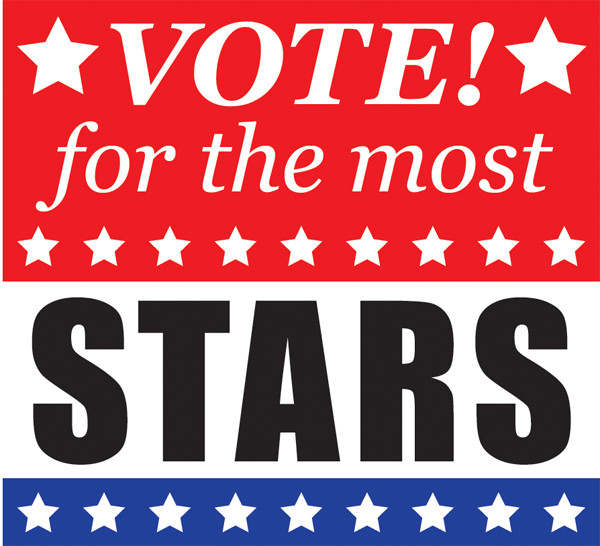 Vote! for the most stars