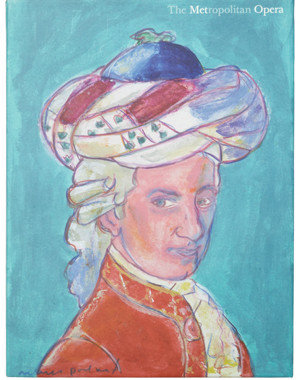 illustration of Mozart