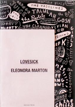 LOVESICK- ELEONORA MARTON book cover