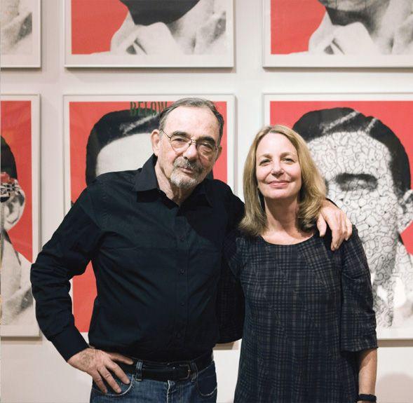 Paula Scher and Seymour Chwast