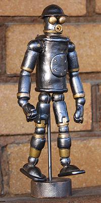 mechanical man figure