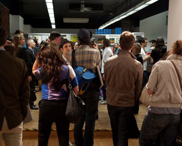 people in the Exhibition