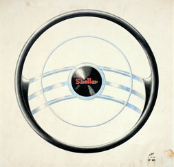 Shellers steering wheel