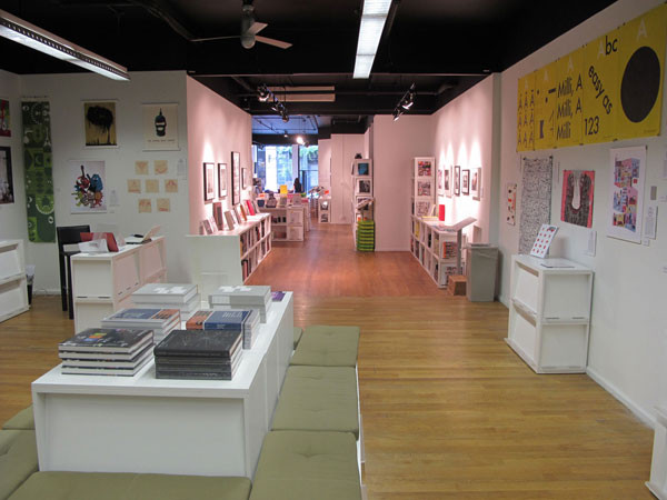 New Visual Artists 2010 Exhibition Photos- books
