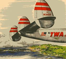 TWA plane