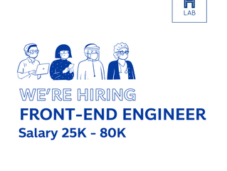 H LAB is hiring FRONT-END Engineer!