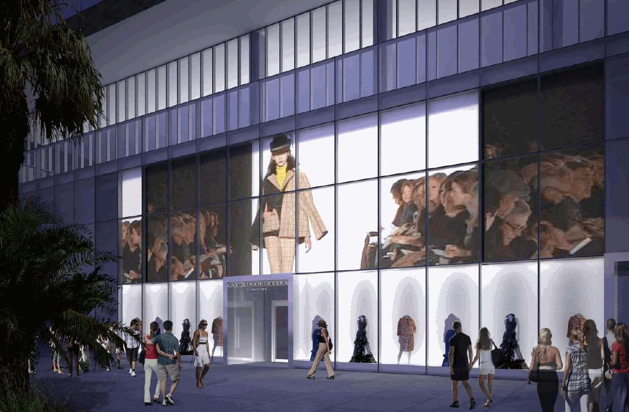 Artists Rendering of the Storefront
