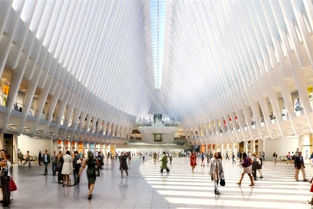 The Oculus structure at the World Trade Center
