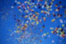 風船とばし飛ばしバルーンリリース