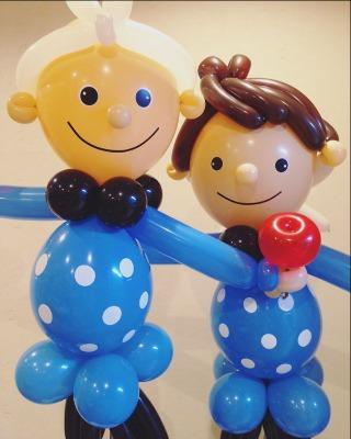 風船の人形バルーンドールコロチキさん