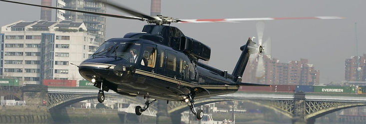 VIP chauffeur transfer to London Heliport