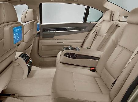 Chauffeur Driven BMW 7-Series
