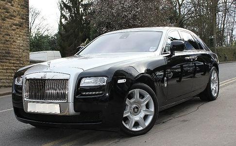 Chauffeur Driven Rolls-Royce Ghost