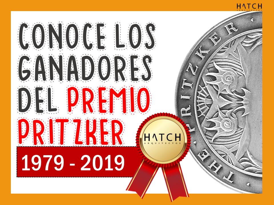 👷♂️🏅👷♀️ ¡Conoce los ganadores del PREMIO #PRITZKER ! #ARQUITECTURA (1979 - 2019)