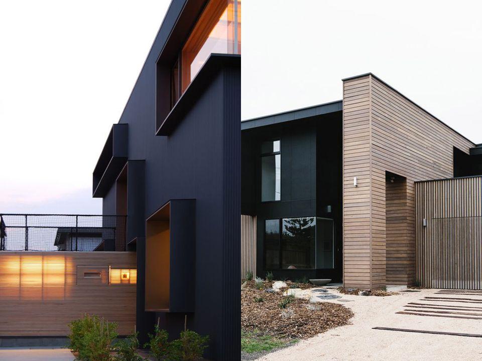 🖤 Negro en la arquitectura.