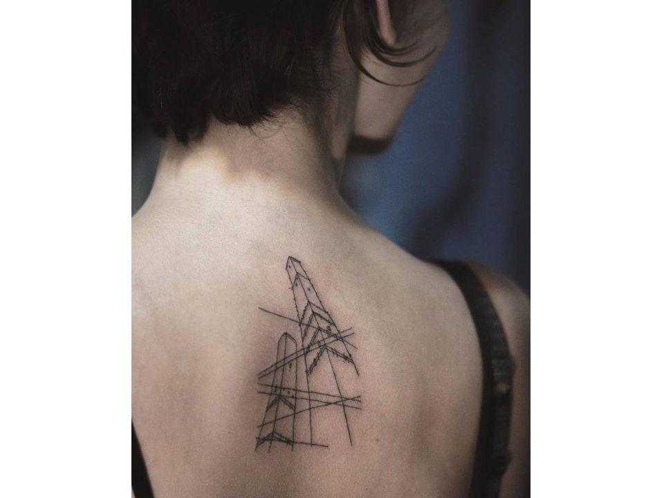 🎨💉 30 Tatuajes inspirados en la Arquitectura