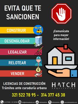 LICENCIAS DE CONSTRUCCIÓN Trámites ante curaduría urbana - Licencias de construcción.