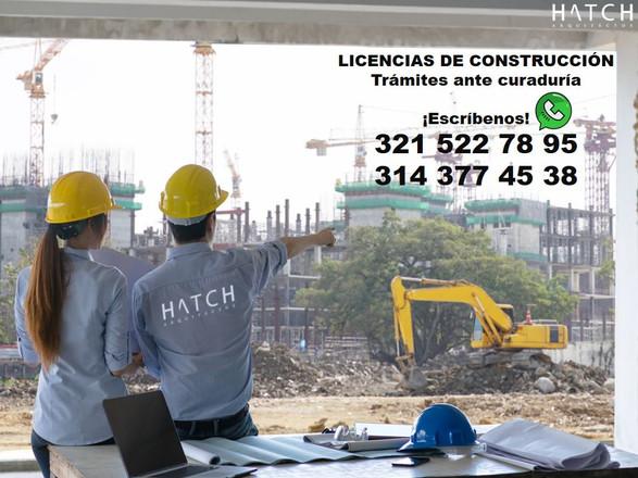 👷 Trámitesante curaduría urbana - Licencias de construcción. HATCH ARQUITECTOS.