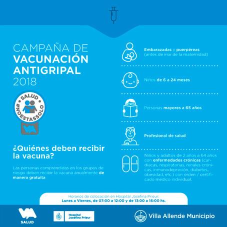 Campaña Antigripal 2018