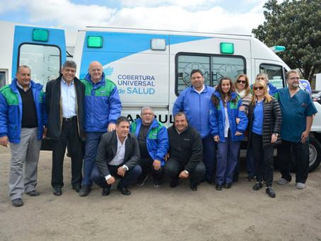 Nueva ambulancia al servicio de los vecinos