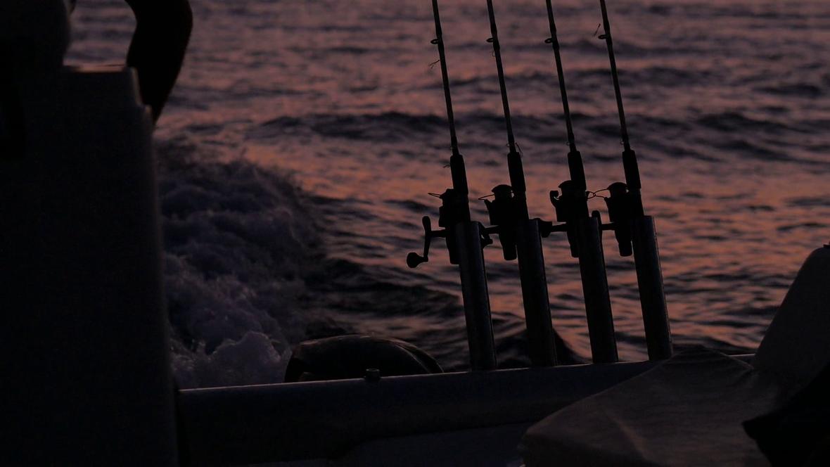 fishing-rod-sea-sunset-ocean-yacht-boat_